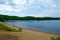 Beach at Arrowhead park